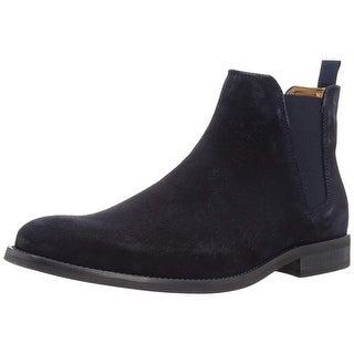 Aldo Womens Vianello Suede Square Toe Ankle Chelsea Boots - 12