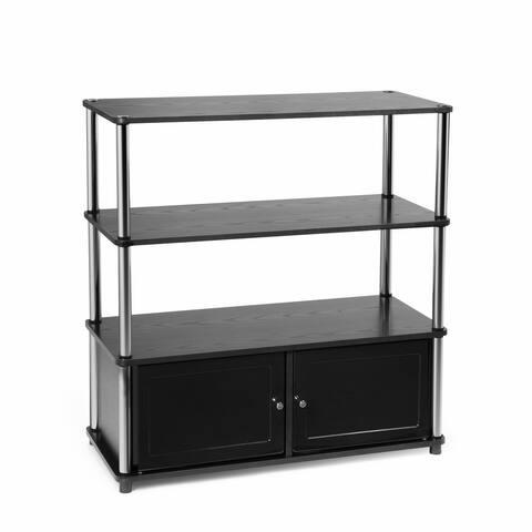 Porch & Den Bourguignon TV Stand with Cabinets