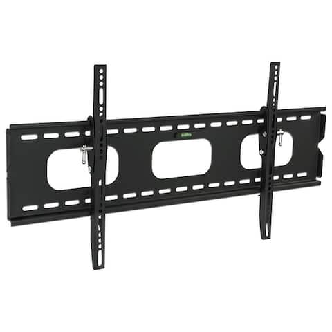 Mount-It! Low-Profile Tilting TV Wall Mount Bracket for 42 - 70 inch LCD, LED, OLED, 4K or Plasma Flat Screen TVs