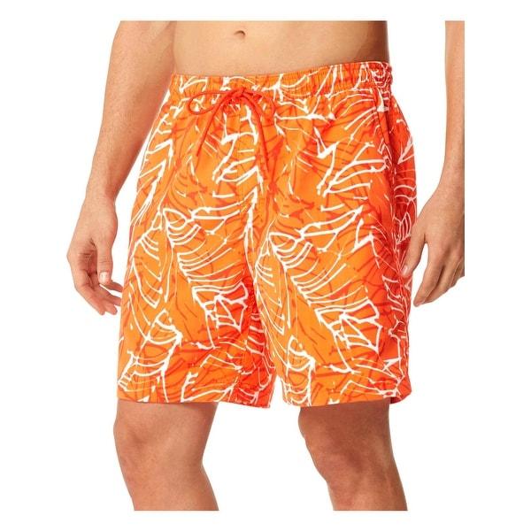 90ab70c4f5 Shop Speedo Mens Men's Travel Printed Shorts Swim Trunks - Free Shipping On  Orders Over $45 - Overstock - 28382153