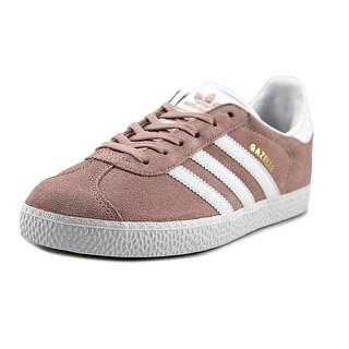 Adidas Gazelle Youth Round Toe Suede Pink Running Shoe