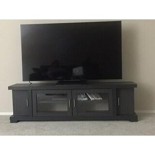 Merveilleux Copper Grove Carson Contemporary 70 Inch Dark Brown Wood TV Cabinet