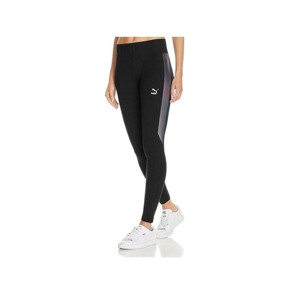 f0a9489665 Shop Puma Womens Athletic Leggings Yoga Fitness - Free Shipping On ...