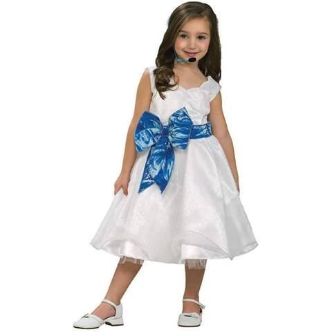 High School Musical Deluxe Gabriella Child Costume - White