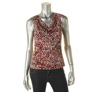 Calvin Klein Womens Petites Blouse Printed Sleeveless|https://ak1.ostkcdn.com/images/products/is/images/direct/929722384ea6fc460100af4748b6a869f0ddc74b/Calvin-Klein-Womens-Petites-Blouse-Printed-Sleeveless.jpg?impolicy=medium