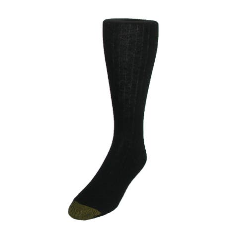 Gold Toe Men's Edinburgh Merino Wool AquaFX Dress Socks (Pack of 3)