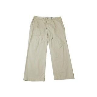 Polo Ralph Lauren Beige Classic-Fit Flat Front Pants - 34