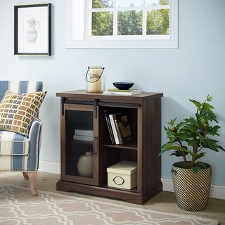Link to The Gray Barn Kujawa Sliding Mesh Door Console Similar Items in Living Room Furniture