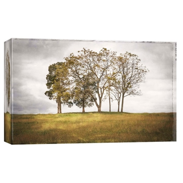 "PTM Images 9-103768 PTM Canvas Collection 8"" x 10"" - ""Three Trees"" Giclee Rural Art Print on Canvas"