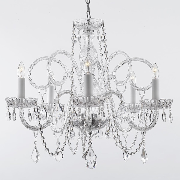 Empress Crystal Chandelier Lighting H25 x W24 - Free Shipping ...