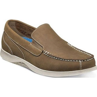 Nunn Bush Men's Bayside Lites Venetian Slip On Tan Leather
