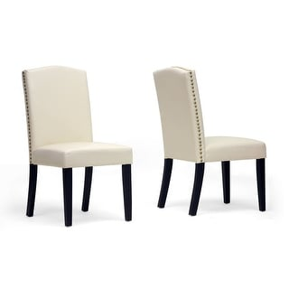 Trullinger Beige Modern Dining Chair - 2 Chairs