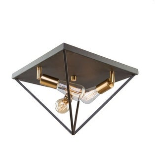 "Artcraft Lighting AC11113 Artistry 3-Light 14"" Wide Flush Mount Ceiling Fixture - n/a"