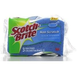 Scotch-Brite Scotch-Brite Non Scratch Scrub Sponge 3 ea