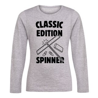 Classic Edition Spinner - Youth Girl Long Sleeve Tee