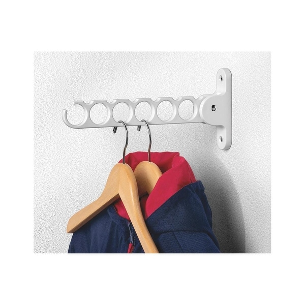 Spectrum White Hanger Holder