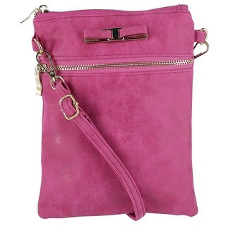 Urban Energy Women's Crossbody Bag with Bow - One size