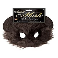 Mouse Half Mask Costume Accessory - Brown