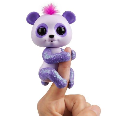 Baby Panda Interactive Fingerling Pet Toy - Beanie - Multi