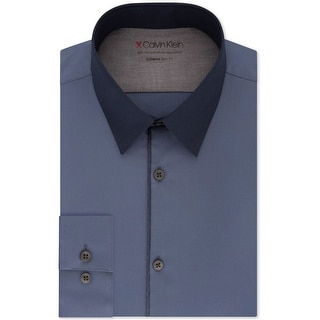 Link to Calvin Klein Mens Extreme Slim Fit Button Up Dress Shirt Similar Items in Shirts