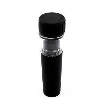 """Wine Vacuum Sealing Air Pump Sealer Plug Bottle Stopper - Black,Clear - 3.35"""" x 1""""(L*D)"""