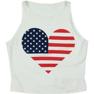 American Apparel Girls Tank Top Cotton Graphic