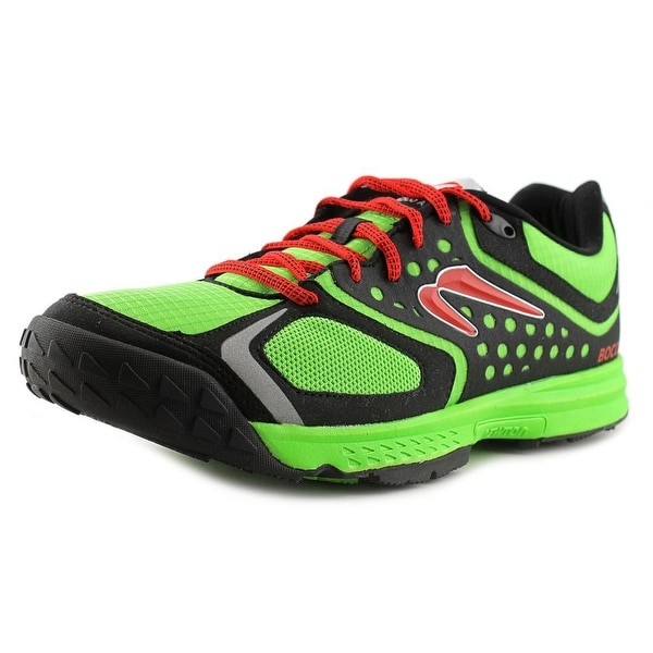 Newton Boco At Men Round Toe Synthetic Green Running Shoe