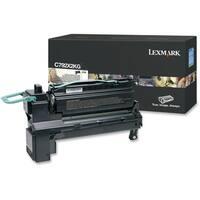 """Lexmark C792X2KG Lexmark C792X2KG Toner Cartridge - Black - Laser - Extra High Yield - 20000 Page - 1 / Each - OEM"""