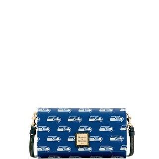 Dooney Bourke NFL Seattle Seahawks Daphne Crossbody Wallet Shoulder Bag Introduced By Dooney Bourke In Aug 2017