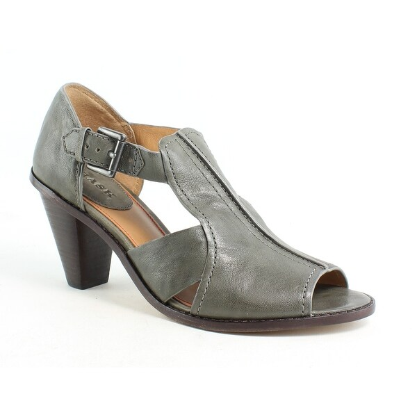 ca82567a020 Shop Trask Womens Ginger Gray Open Toe Heels Size 8.5 - Free ...