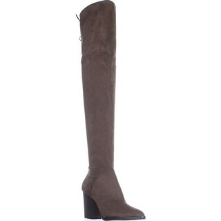 Marc Fisher Alinda Over the Knee Boots, Medium Natural - 8.5 us