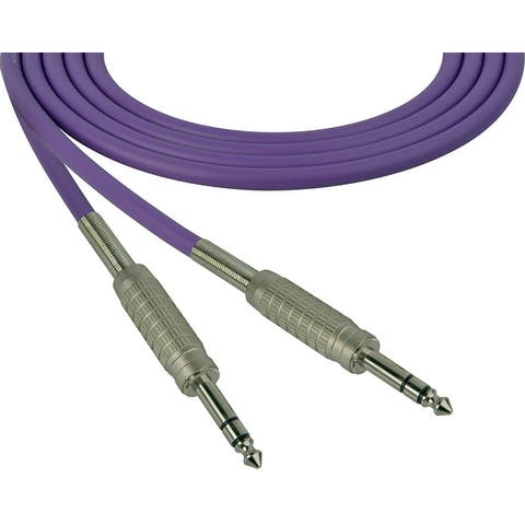 Sescom SC50SZSZ Audio Cable Canare Star-Quad 1/4 Inch TRS Male to 1/4 Inch TRS Male