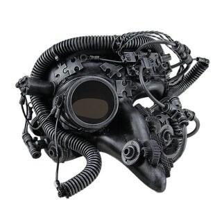 Big Nose Half Face Metallic Steampunk Pantalone Mask