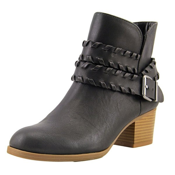 Style & Co Dyanaa Women Round Toe Synthetic Black Ankle Boot