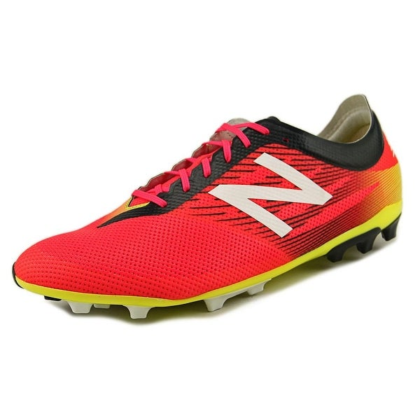 New Balance MSFUR Men Round Toe Synthetic Pink Cleats