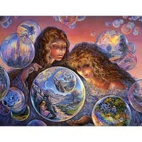 ''Bubble World'' by Josephine Wall Fantasy Art Print (24 x 36 in.)