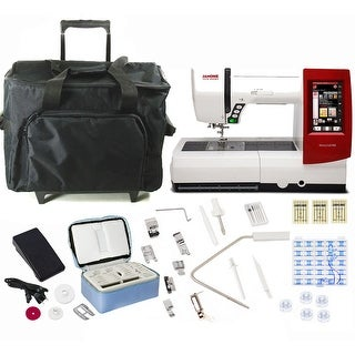 Janome Horizon Memory Craft 9900 Sewing and Embroidery Machine with Exclusive Bonus Bundle