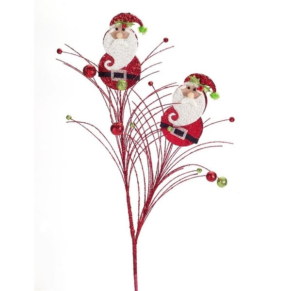 "Club Pack of 12 Joyful Christmas Red Santa Clause Explosive Firework Sprays 29"""