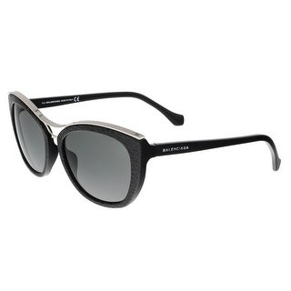 Balenciaga BA0032 01A Black Cat Eye Sunglasses