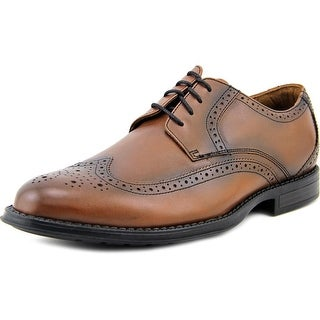 Nunn Bush Ryan Wing Tip Men W Round Toe Leather Oxford