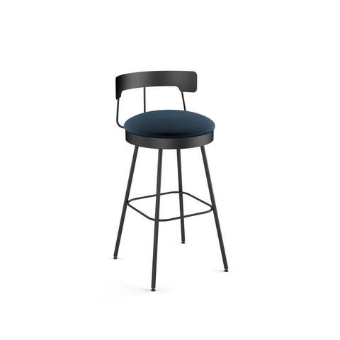 Amisco Monza Swivel Counter and Bar Stool