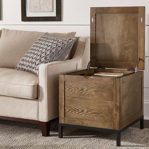 Shay Storage Trunk End Table with Removeable Tray by iNSPIRE Q Artisan