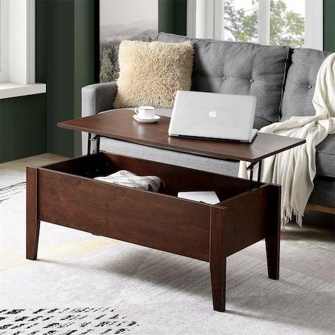 Merax Lift Top Coffee Table with Hidden Storage