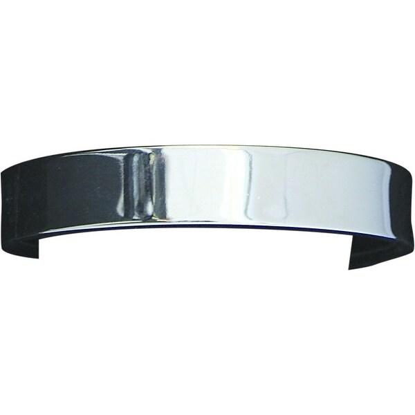 Bar V Ranch Western Men Bracelet Smooth Hammered Lining Silver 314-230