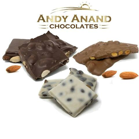 Andy Anand Old Fashioned Chocolate Almond Bark Bridge