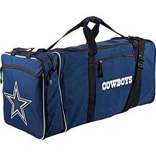 C11NFL-C7241-0009-RTL 12 x 28 in. NFL - Dallas Cowboys Steal Duffel