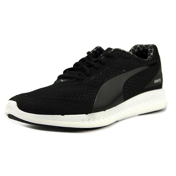 Puma ignite Men Round Toe Synthetic Black Running Shoe