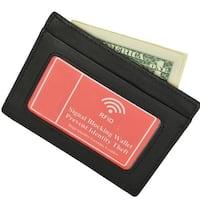 Rfid Light Carry Leather Wallet For Men
