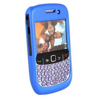 Blackberry Curve 8530 / 8520 Rubberized Case - Dark Blue