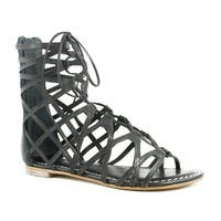 Bernardo Womens Willow Black Gladiator Sandals Size 5